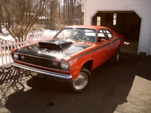 72 duster roll bar
